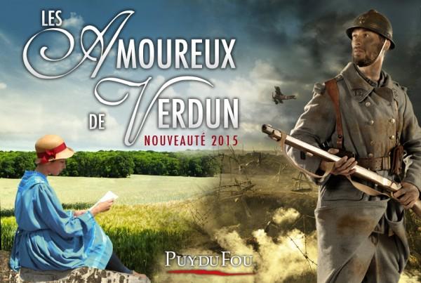 Les Amoureux de Verdun le nouveau spectacle 2015 du Grand Parc du Puy du Fou