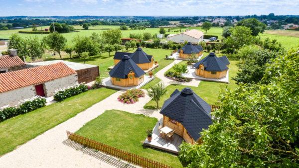 Petit village de kotas proche du Puy du Fou