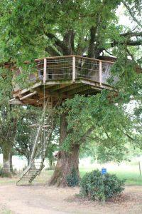 Cabane dans les arbres puy du fou