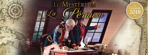 Le Mystère de la Pérouse spectacle proposé en 2018 par le Puy du Fou