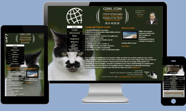 Création de site Responsive Design aux Herbiers