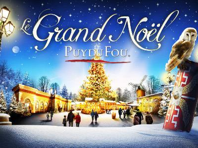 Noel au Puy du Fou en Vendée