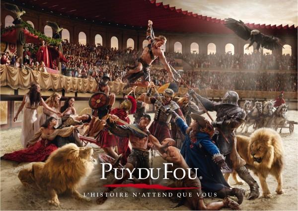 La saison 2015 du Puy du Fou en Vendée