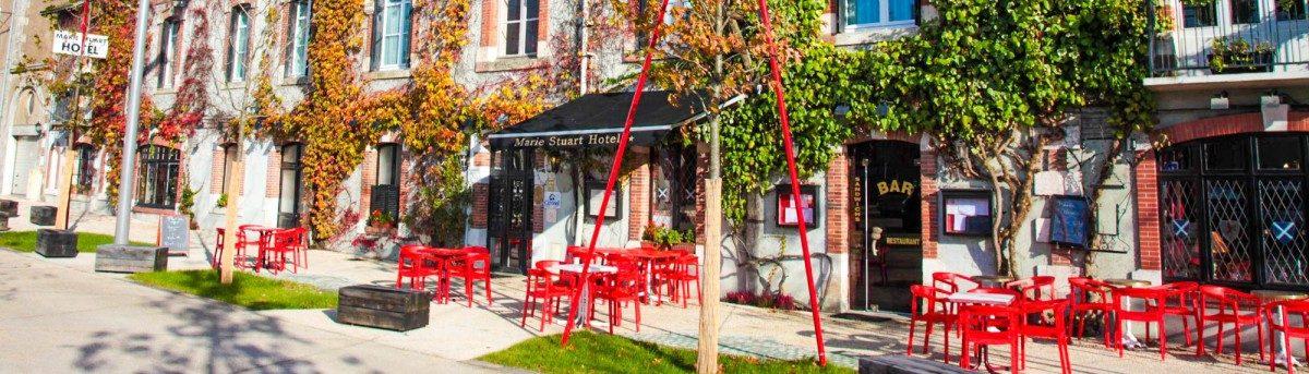 Hotel restaurant à la Roche sur yon pour etre hébergé proche du Puy du Fou